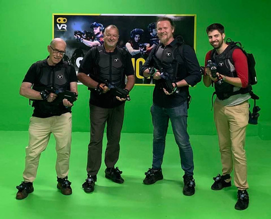 Ric Holland and Red Cartel at VR Kingdom. Extreme Digital Ventures