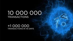 10 million transactions