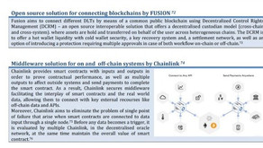 ECB report mentions Fusion