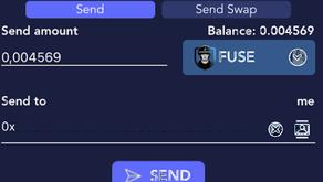 Sending AnySwap-integrated FRC20s in regular txs on mobile