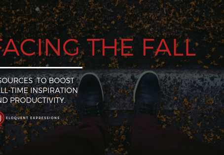 Facing the Fall: 4 Sources to Boost Fall-Time Inspiration and Productivity