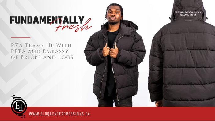 RZA Teams Up With PETA x Embassy of Bricks and Logs To Launch New Vegan Puffer Jacket