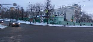 Москва, улица Авиамоторная 65 строение 1 (перекресток с 5-ой Кабельной улицей)