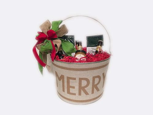 "Holiday ""Merry"" Bucket"
