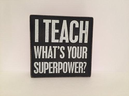 I TEACH BOX