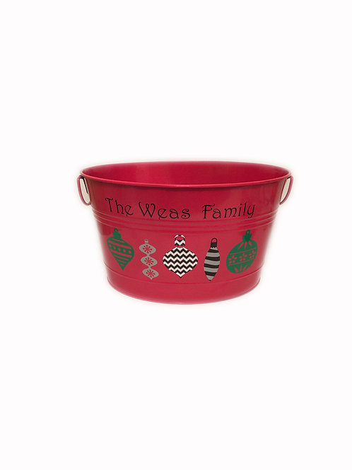 Holiday Beverage Bucket
