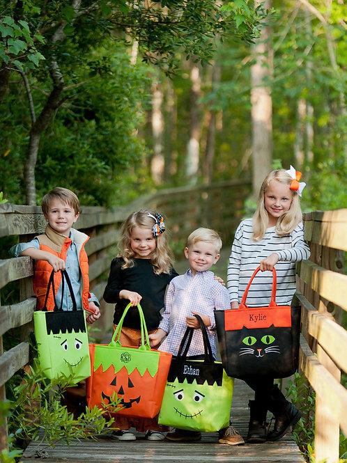 Personalized Halloween Treat Bag