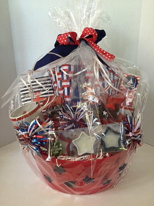 4th OF JULY BASKET