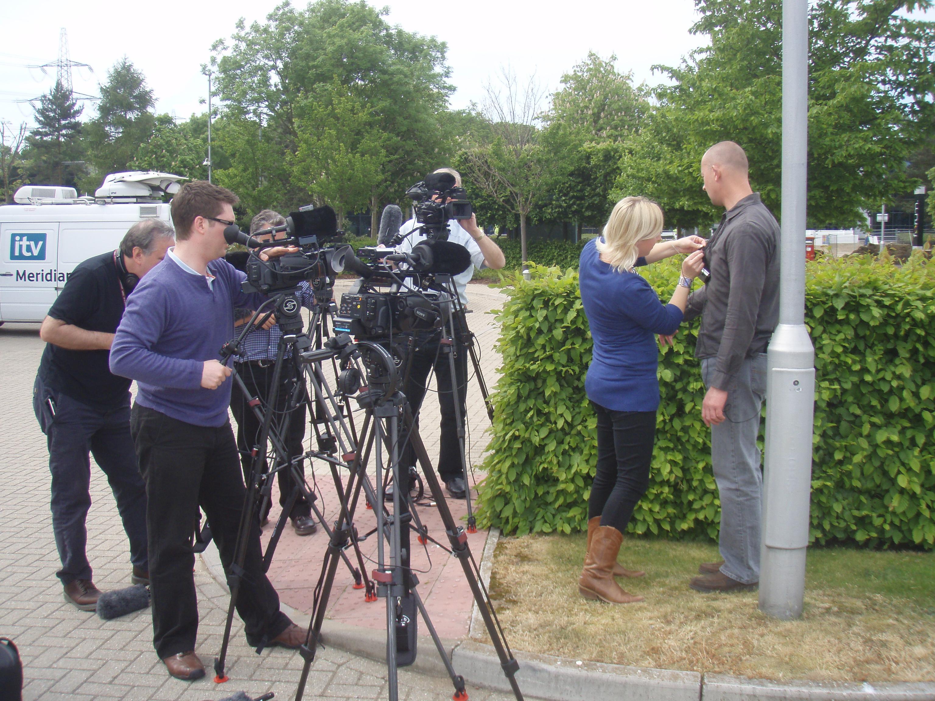 Media Scrum training