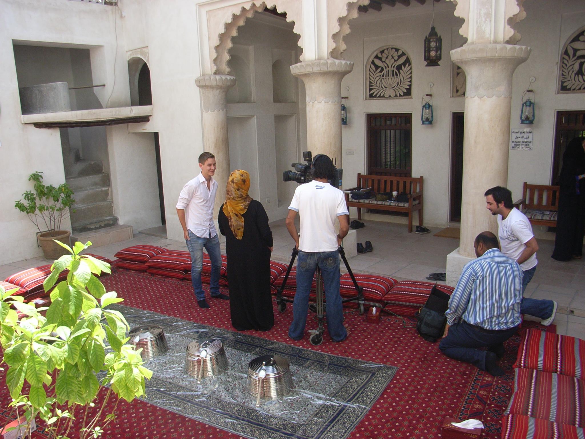 Dubai interviews