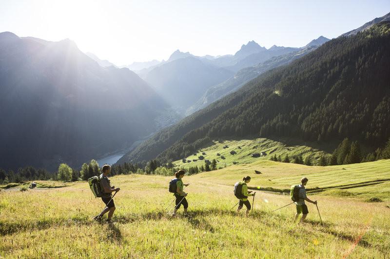 Wandern in Gaschurn (c) Daniel Zangerl -