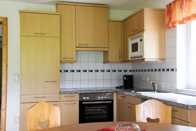Küche Wohnung Piz Buin