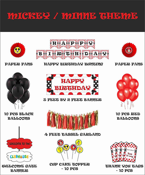 Mickey Mouse / Minnie Mouse theme