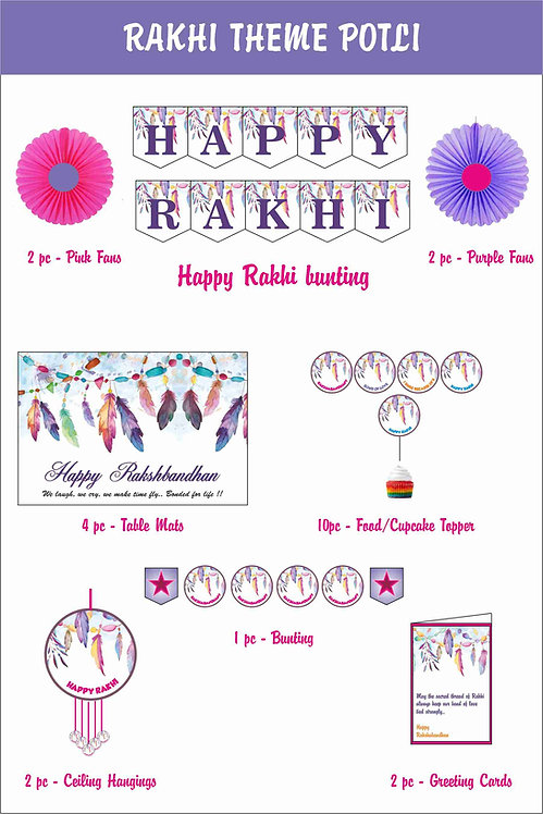 Rakhi Theme Potli