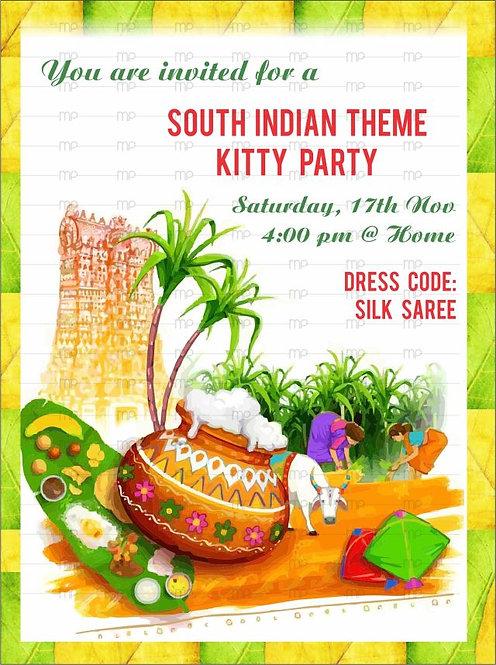 South Indian Theme Kitty Potli