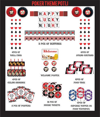 Poker / Cards Party theme Decor