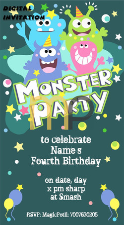 Monster Party for fun day