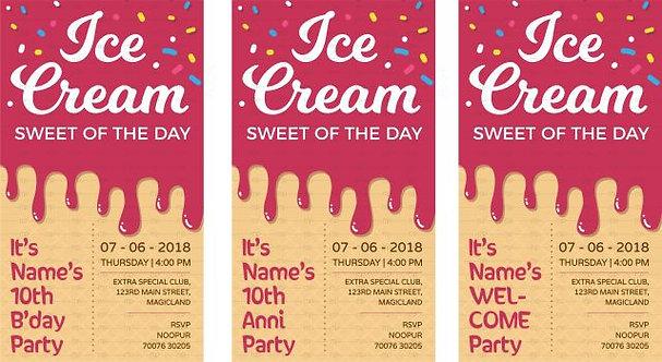 Ice Cream Party - Multicolour