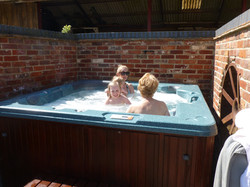 Out side Hot-tub