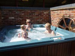 Outside Hot-tub