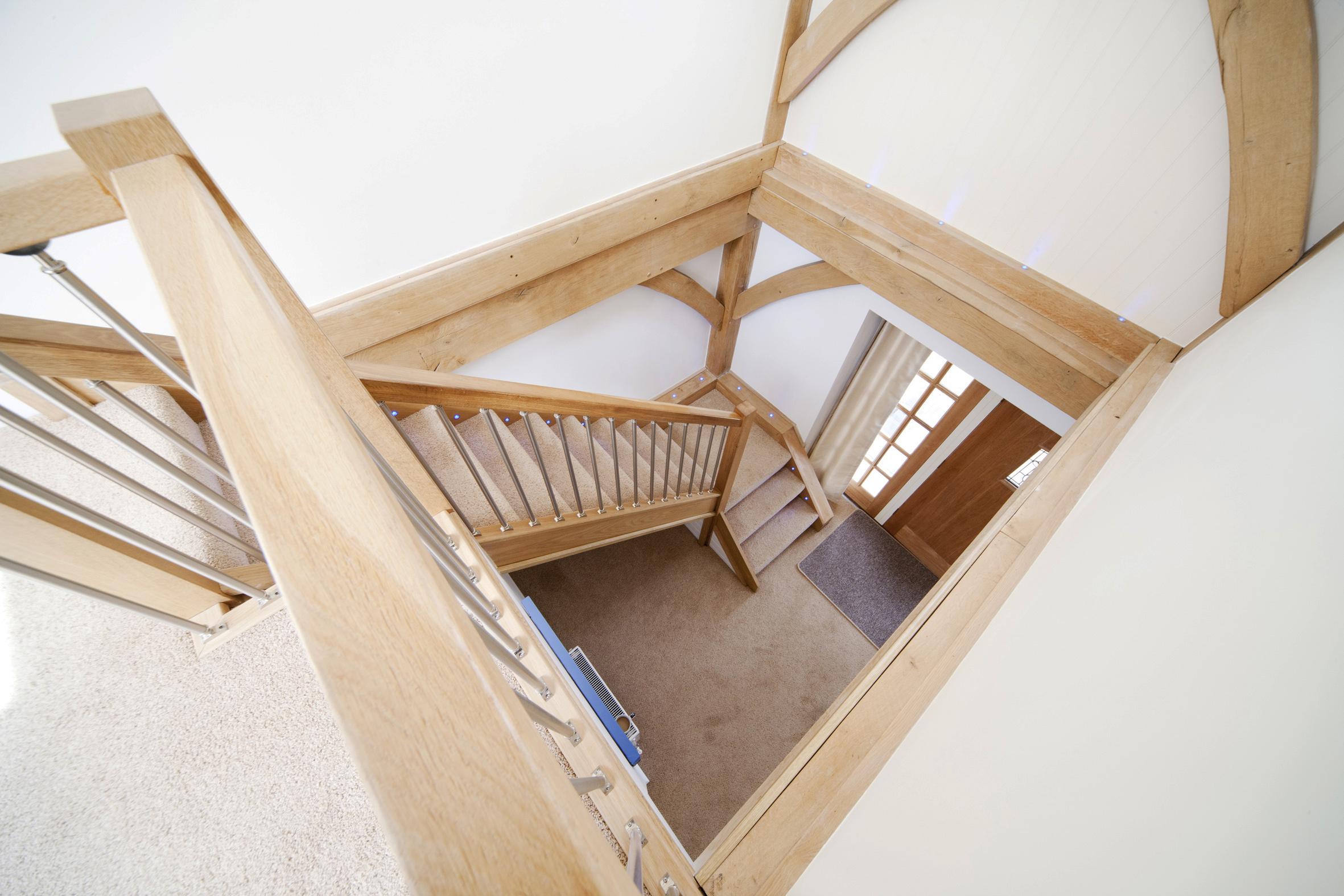 Beautiful Oak Staircase