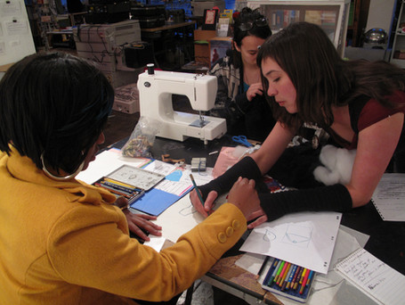 Teaching and Mentoring youth in fashion and garment construction in Oakland, CA