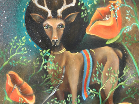 Painting inspired by Finnish ancestry