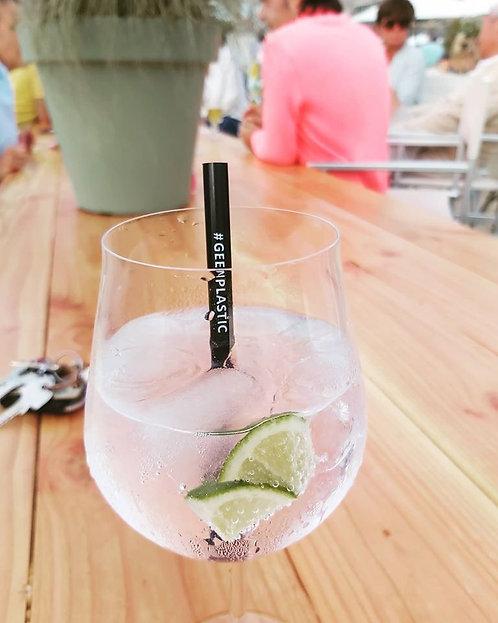 PLA Cocktail Rietjes #geenplastic 8x140mm