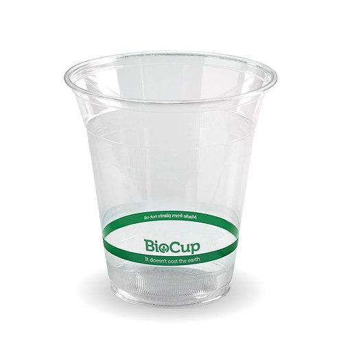 Beker Pla 360ml Biocup transparent