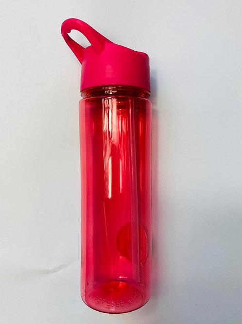 500ML Plastic Pink Bottle - Personalised