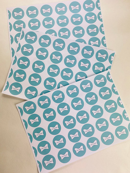 Pack of 10 A4 White Wrapping Paper