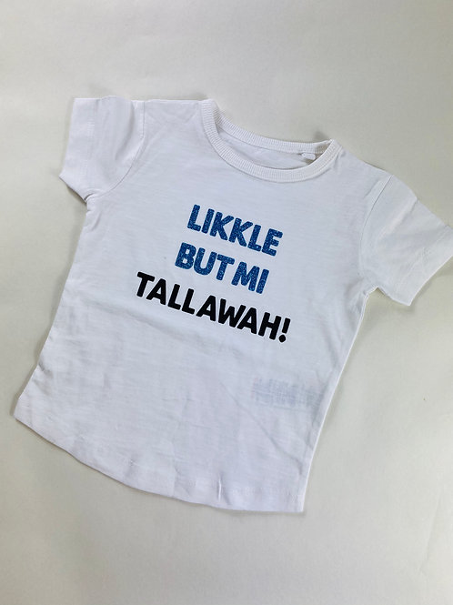 TallawahT-Shirt White & Blue