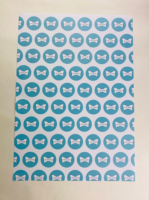 Pack of 10 A3 White Wrapping Paper