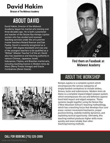 Martial Art Flyer 2 - Made with PosterMy