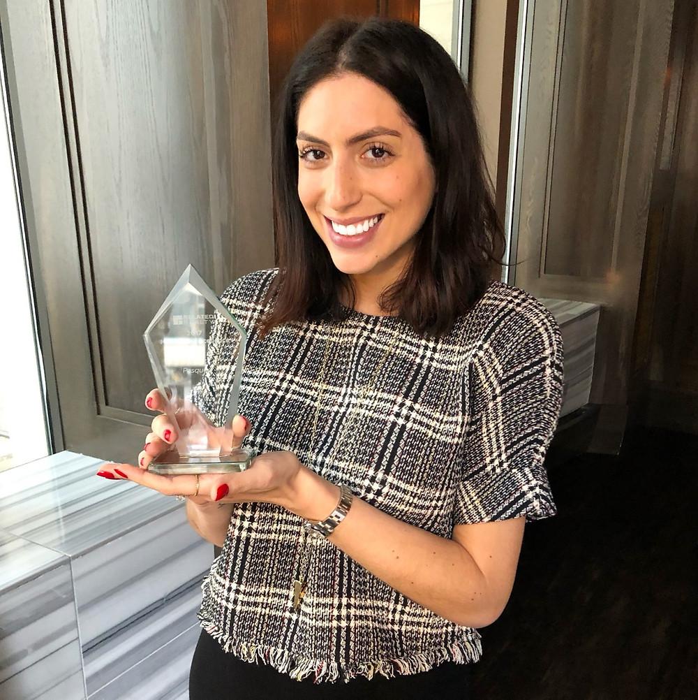 Sarah Pasquesi, sales awards, marketing award