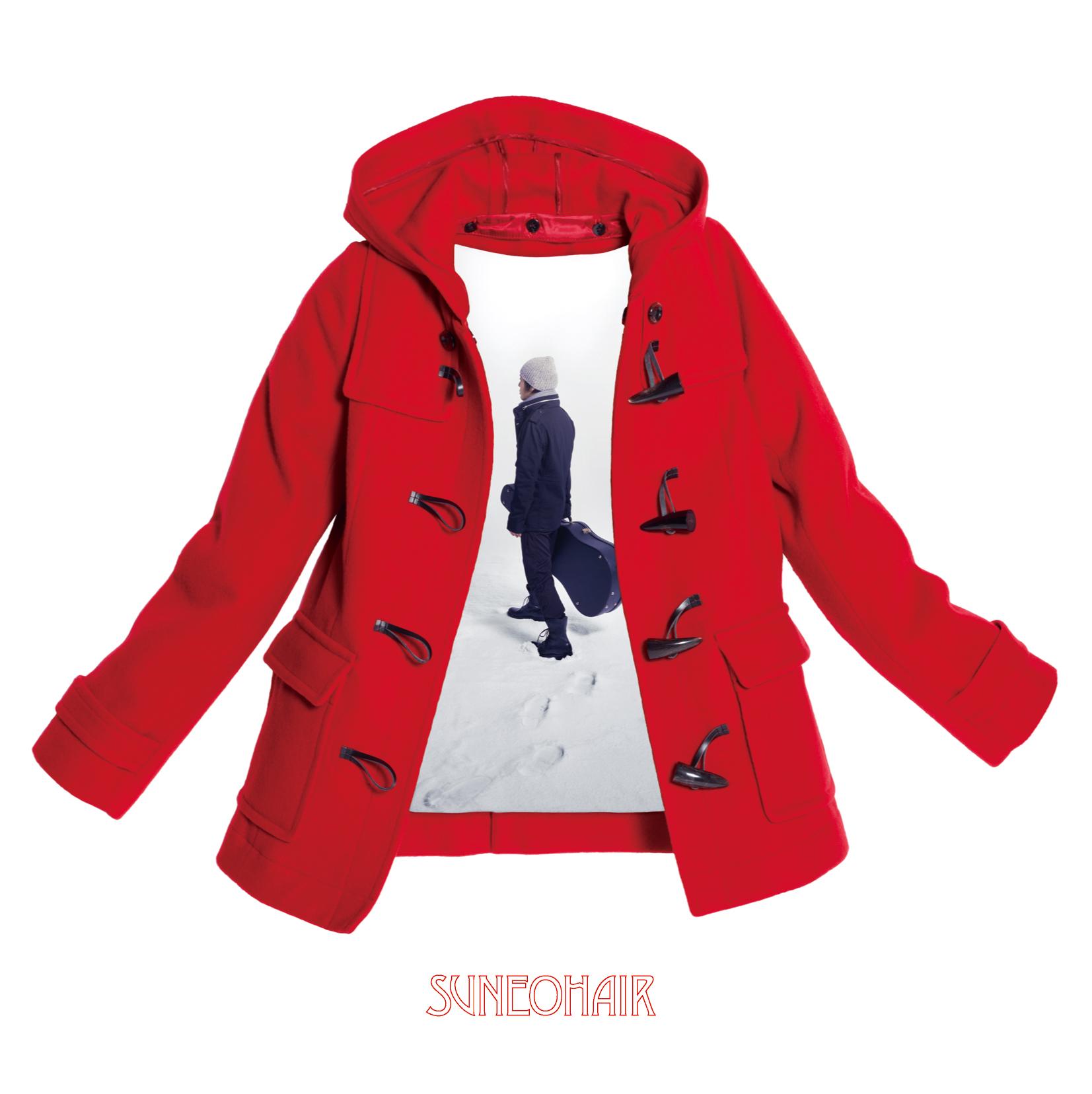 赤いコート KICS1633