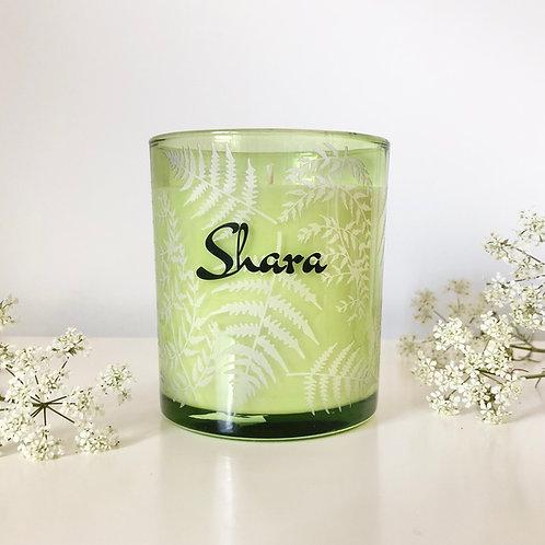 Medium 'Ferns' Candle
