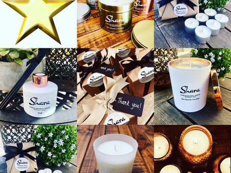 Say 'Thank you' with a Shara candle!
