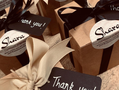 More 'Thank you' gifts being sent out tomorrow 🎁