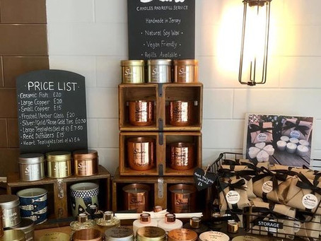 30% off summer range of candles, reed diffusers and tea lights at Seahorse
