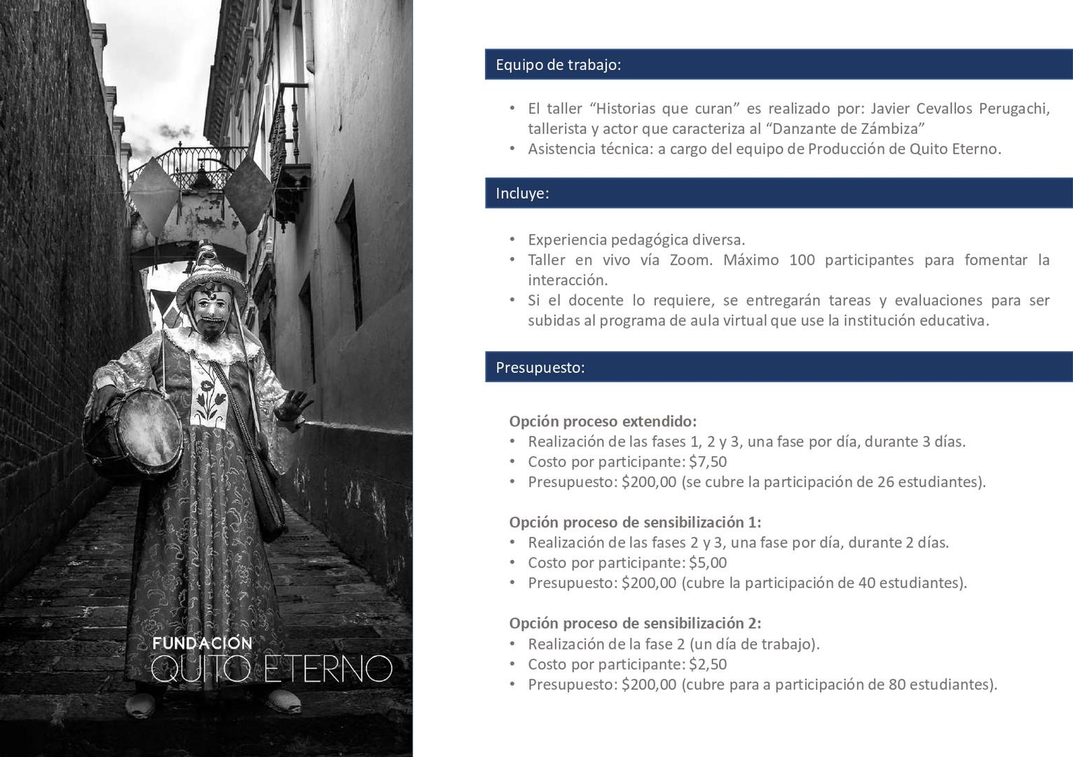 Quito Eterno - Historias que curan 10