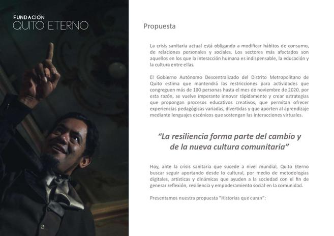 Quito Eterno - Historias que curan 3