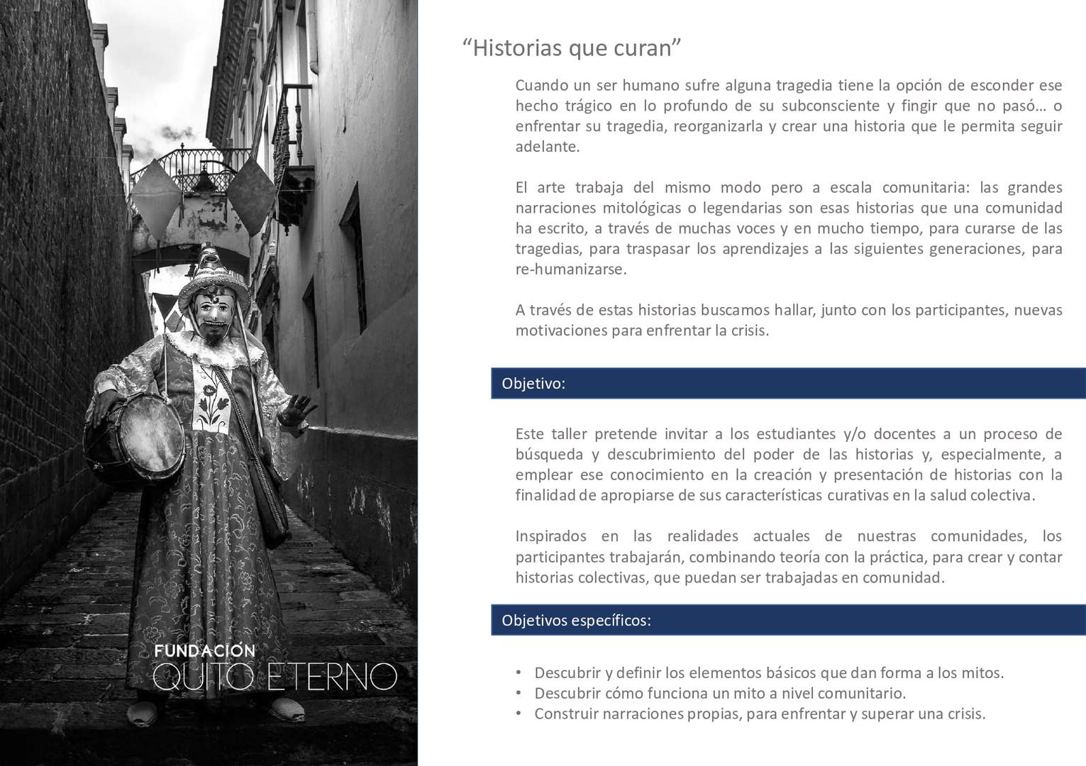 Quito Eterno - Historias que curan 4