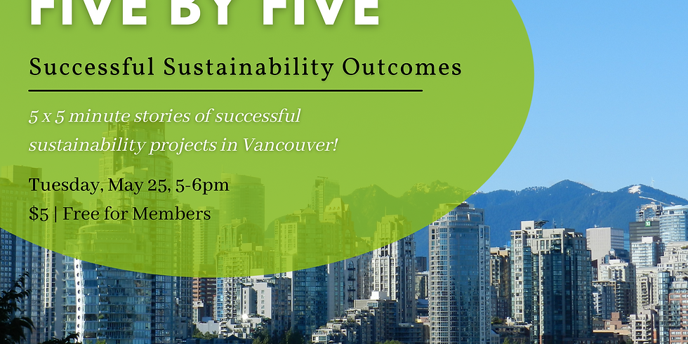 5x5: Successful Sustainability Outcomes