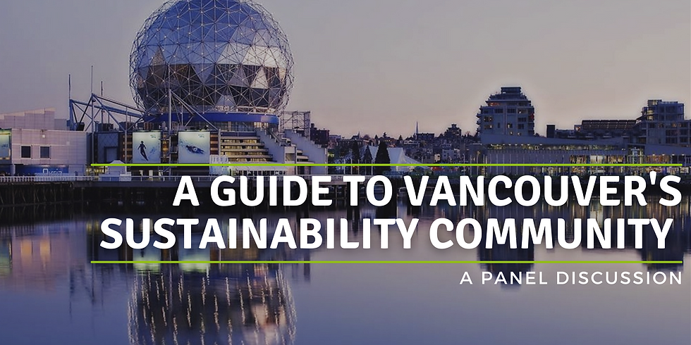 A Guide to Vancouver's Sustainability Community