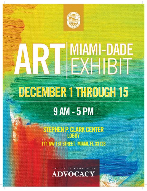Art Miami-Dade Exhibit Dec 1 - 15