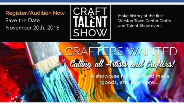 Craft & Talent Show/Weston Town Center Florida Nov. 20/2016