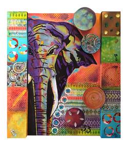 """Naga-malla"" The fighting elephant"
