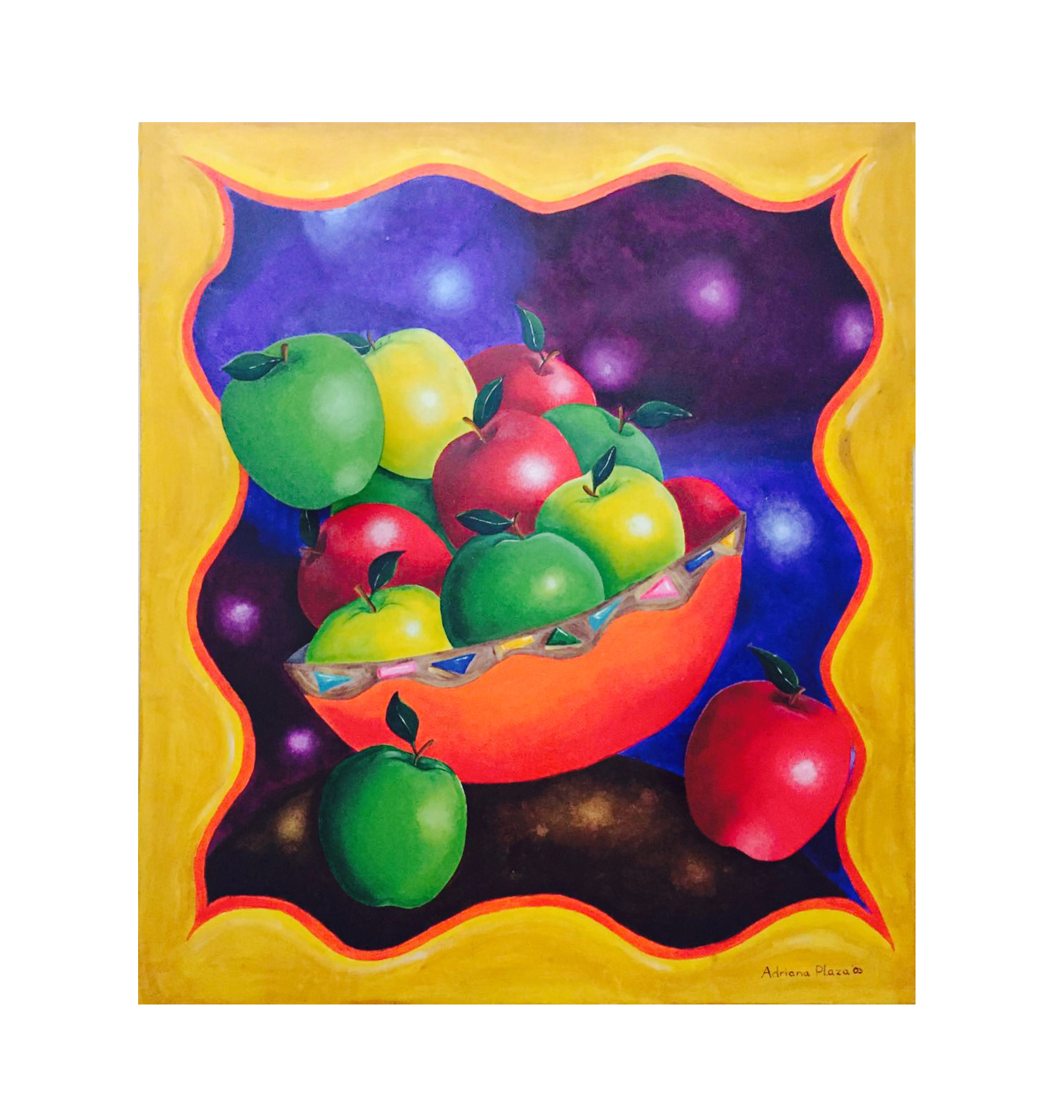 """Apples in Spaces"""