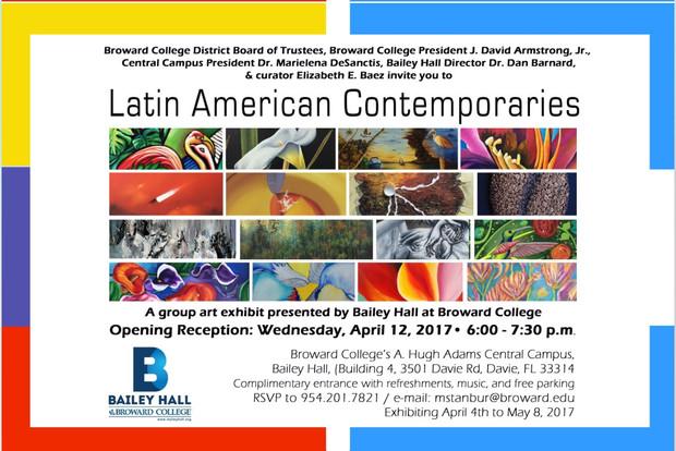 Latin American Contemporaries. Art Exhibit.